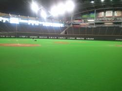 北海道野球界の聖地札幌ドーム