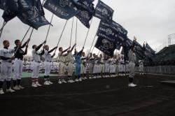 写真はリトルシニア北海道連盟 合同開会式の様子