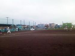 ミニジュニアの試合風景