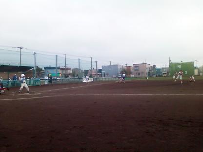 試合風景(光陽ヤンキース VS スターキングス)