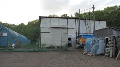 札幌豊平クラブ室内練習場