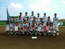 優勝した旭川大雪ウィナーズの選手たち