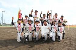 全道優勝した平岡カウボーイズの選手たち