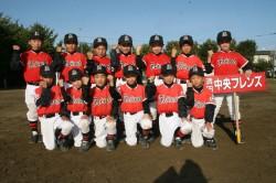 清田中央フレンズの4年生以下の選手たち