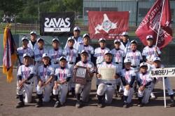 優勝の札幌白石リーグ