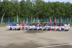 Fsジュニア王座決定戦豊平区予選・開会式(西岡中央公園より)