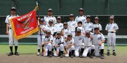 遠軽支部代表の遠軽北野球スポーツ少年団