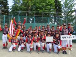 豊平区代表の月寒スターズの選手たち(写真:チーム提供)