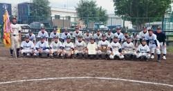 札幌支部代表の札幌中学校の選手たち(写真:チーム提供)