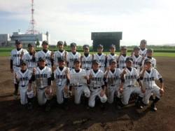 旭川支部代表の東明中学校の選手たち(写真:チーム提供)