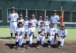 全日本学童・北北海道遠軽支部代表の遠軽北野球少年団の選手たち(写真:チーム提供)