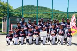 代表の緑ヶ丘パワーズの選手たち(写真:チーム提供)