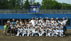 代表の士別南野球少年団の皆さん(写真:チーム提供)