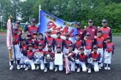 代表の仁木野球スポーツ少年団