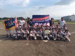 代表の東旭川フェニックスの選手たち(写真:チーム提供)