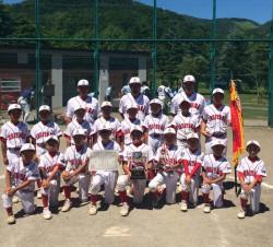 代表の石山アトムズ少年団(写真:チーム提供)