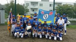 代表の大中山野球スポーツ少年団(写真:チーム提供)