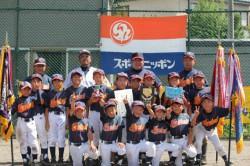 代表の長橋少年野球団(写真:チーム提供)
