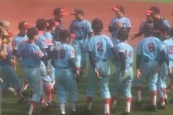 全日本学童三回戦での東16丁目ナイン(写真:チーム提供)