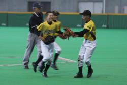 第45回全道少年軟式野球大会決勝より