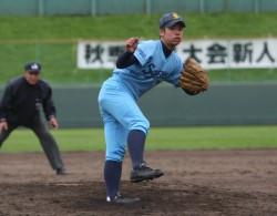 山田投手(札幌新琴似)