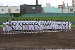 札幌豊平ボーイズ(秋季全道選手権・閉会式より)