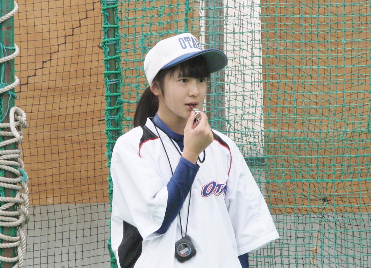 美少女マネージャー、小樽シニアを支える長谷川さん ...